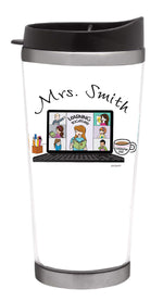 School Teacher Travel Coffee Tumbler