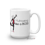 Multitasking like a boss! philoSophie's mug - philoSophie's®