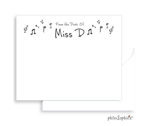Personalized Music Notes - philoSophie's®