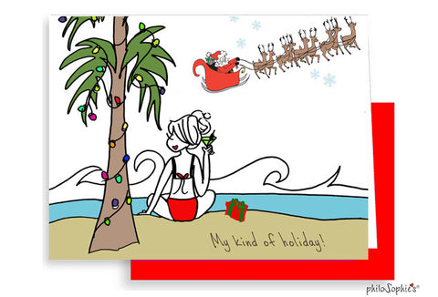 Customizable My Kind of Holiday Greeting Cards - philoSophie's®