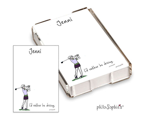 Golf Quick Notes - philoSophie's®