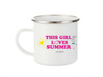 philoSophie's This Girl Loves Summer - Camp Cup - philoSophie's®