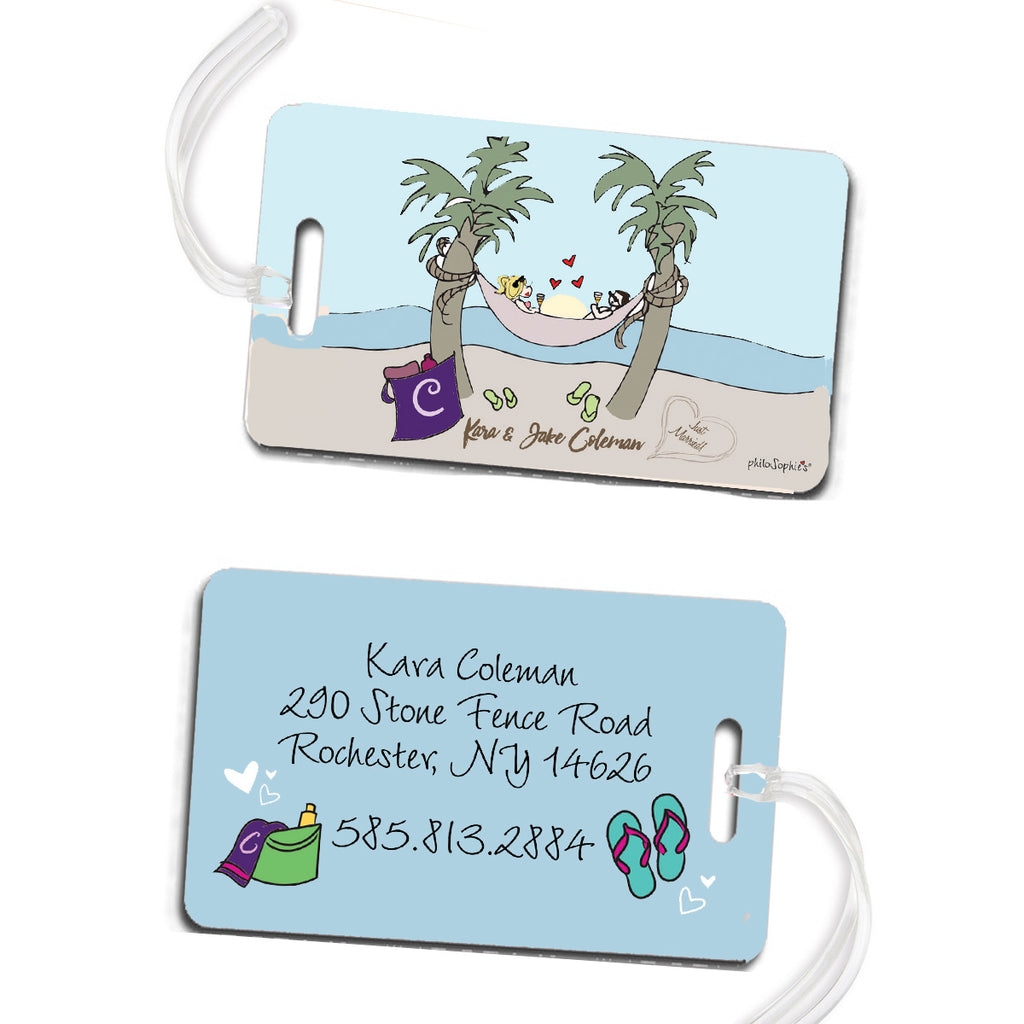 Newlywed Luggage Tags - philoSophie's®