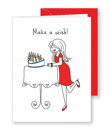 Make a Wish - Birthday Greeting Card