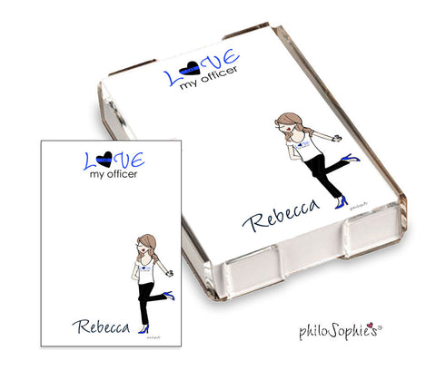 Love my Officer Quick Notes - philoSophie's®