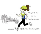 Marathon - Strength in Numbers - personalized mug - philoSophie's®