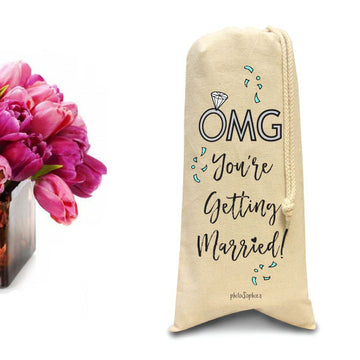 OMG You're Getting Married Tote/Wine & Spirits Tote