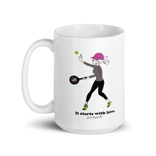 Paddleball - Ceramic Mug