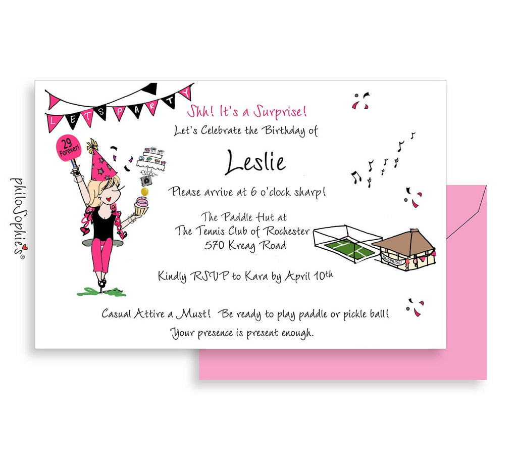 Birthday Invitation - Milestone Birthday