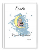 Personalized Dreams don't expire journal - philoSophie's®