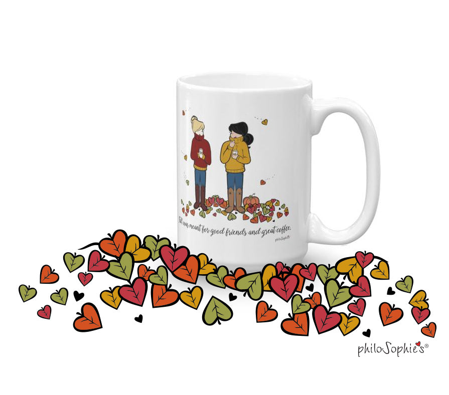 Personalized Fall Friendship Mug - philoSophie's®