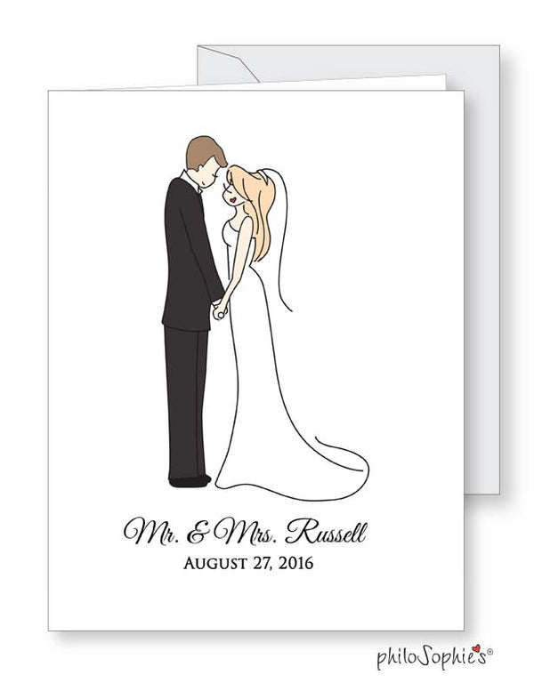 Wedding Card - Personalized - philoSophie's®
