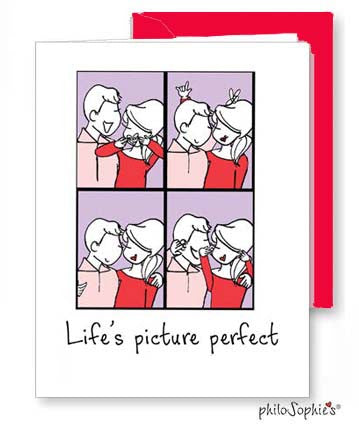 Life's picture perfect - Valentine Greeting Card - philoSophie's®