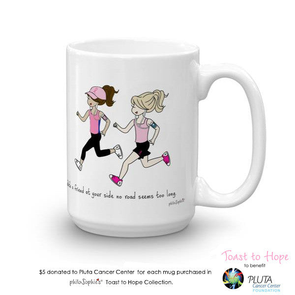 Toast To Hope - Friend by Your Side (personalize)- Runners