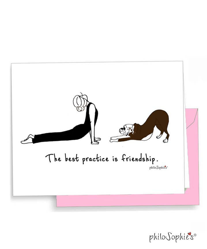 Best Practice Greeting - philoSophie's®