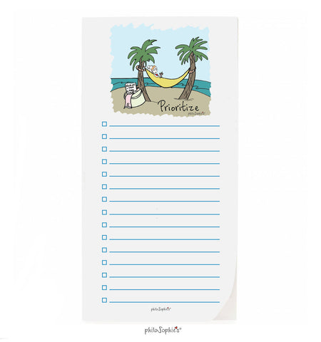 philoSophie❤️s® Prioritize Notepad - philoSophie's®