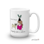 Everybody needs a sidekick - personalized mug - philoSophie's®