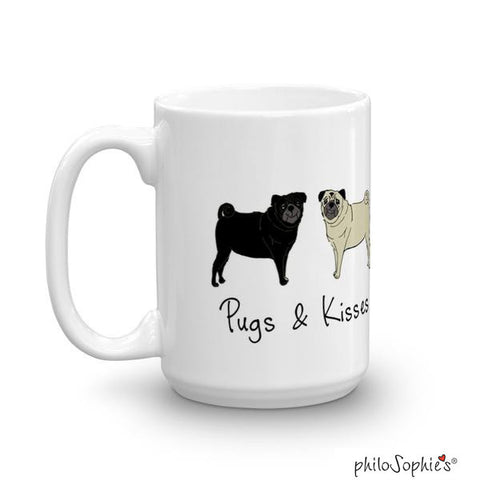 Pugs & Kisses Mug - philoSophie's®