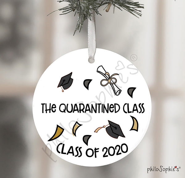 The Quarantines Class, Christmas Ornament,Gift, Class of 2020