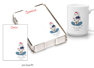 I love my cubbies mug & quick note gift set