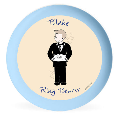 Personalized Ring Bearer Plate - philoSophie's®