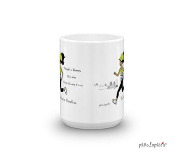 Rochester Runner - Strength in Numbers - personalized mug