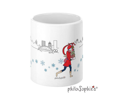 Cityscape Holiday Mugs - Rochester - philoSophie's®