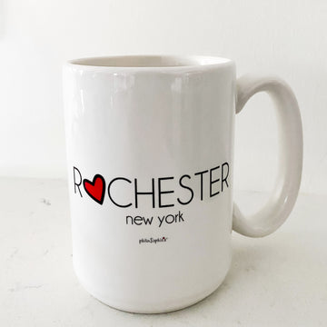 Love Rochester Ceramic Mug