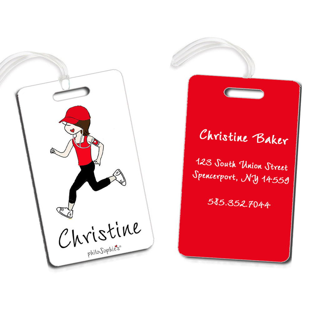 Runner Luggage Tags - philoSophie's®