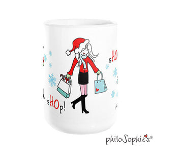 sHOp! sHOp! sHOp! Holiday Mug