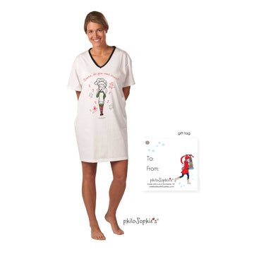 Santa Do You Rent Elves? Nightshirt
