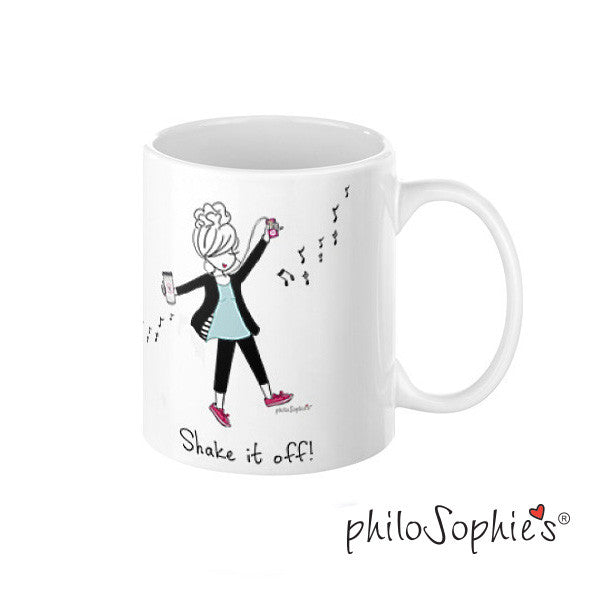 Shake it Off Personalized Mug - philoSophie's®