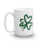 For each petal on the shamrock Mug - St. Patrick's Day Mug