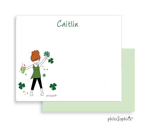 Personalized Shamrock Shake Notes ( Special Holiday Pricing) - philoSophie's®