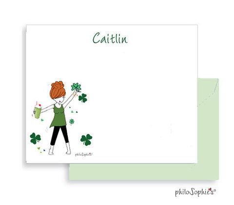 Personalized Shamrock Shake Notes ( Special Holiday Pricing)
