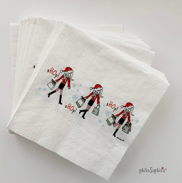 sHOp! sHOp! sHOp! Napkins