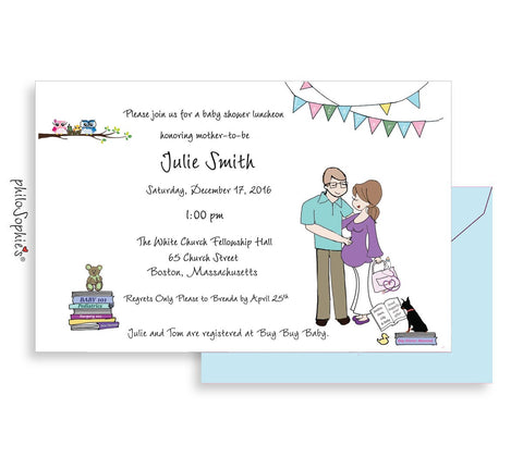 Personalized Baby Shower - Baby Books