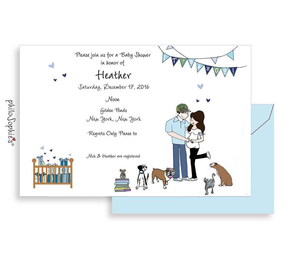 Personalized Baby Shower - Growing Family - philoSophie's®