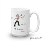 I love dance! Personalized Mug - philoSophie's®