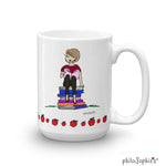 Reading/At Desk Personalized Mug - philoSophie's®