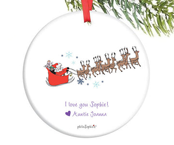 Baby's First Christmas ~Personalized Ornament