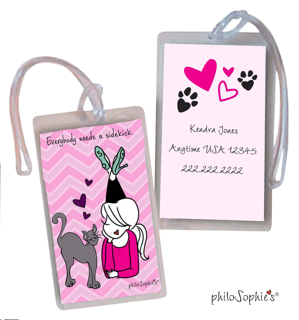 Sidekick Luggage Tags
