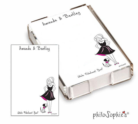 We're Fabulous! You?! sidekick  Quick Notes - philoSophie's®