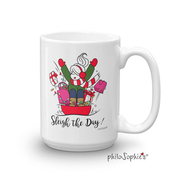 Sleigh the Day! Holiday Mug