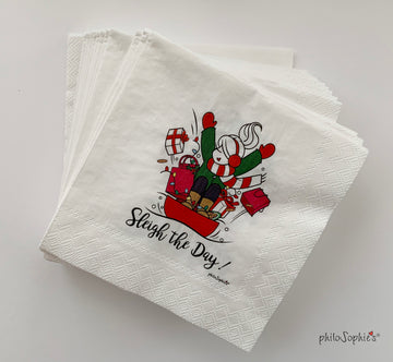 Sleigh the Day Napkins