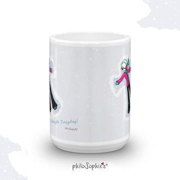 Snow Day!  Winter Mug ( Non Personalized)