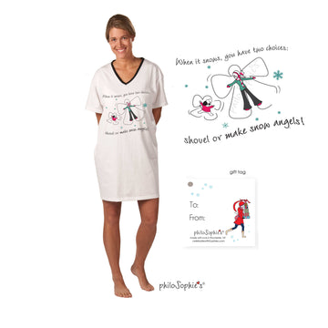 Snow Angels Nightshirt