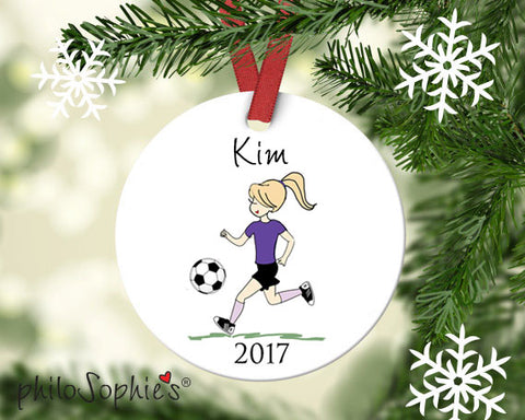 Personalized Soccer Ornament - philoSophie's®