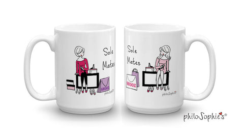Sole Mate Pair of Mugs