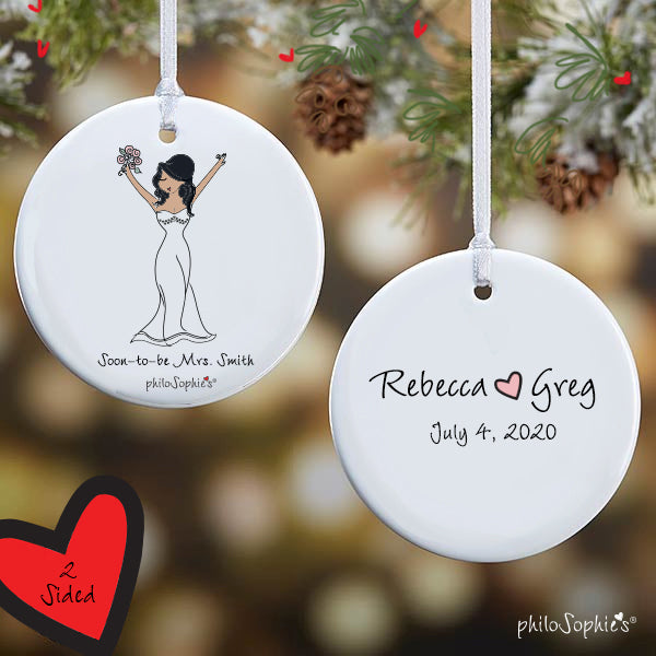 Personalized Bride-to-Be Ornament - philoSophie's®